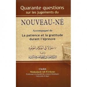 40 QUESTIONS SUR LES JUGEMENTS DU NOUVEAU NÉ