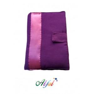 protège coran violet